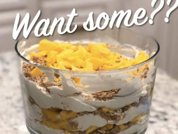 Easiest, No-bake Filipino Mango Icebox Cake Recipe!