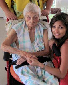 my Lola, age 96